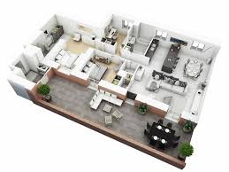 house floor plans ideas storey house floor plan ideas with fascinating 3d 2 bed plans