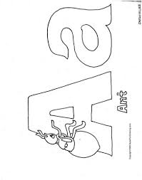 alphabet coloring pages to print free printable pictures 5438
