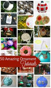 50 diy ornament tutorials life sew savory