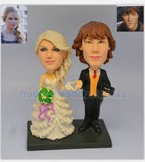 cake toppers bobblehead wedding cake toppers