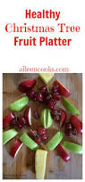 healthy christmas tree fruit platter recipe christmas