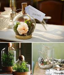 wedding diy project diy terrarium for the table centrepieces