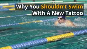 tattoo care swimming how long after getting a tattoo can you go swimming authoritytattoo