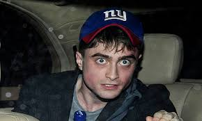 Daniel Radcliffe Meme - daniel radcliffe appears tired and red faced as he leaves theatre