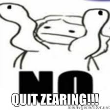 Tits Meme - quit zearing calm your tits meme generator