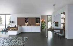 Modern Kitchen Living Kitchen Design by Kitchen Room Cool White Nuance Large Living Dining Kitchen