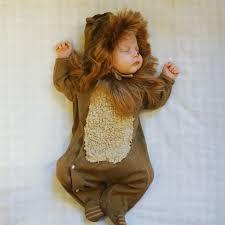 Baby Lion Costume Diy Newborn Baby Halloween Costume Wizard Of Oz Lion Costume