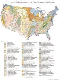 State Map Of Oregon by Ecoregions Of Oregon U2013 The Wilds Project