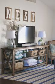 church pew home decor beautiful living room decor love the console and nest letters