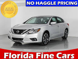 nissan altima 2016 used used 2016 nissan altima sr sedan for sale in west palm fl 84781