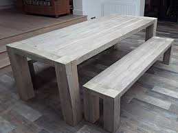 rustic dining table with bench modern grey rustic dining table reclaimed wood grand bench here in
