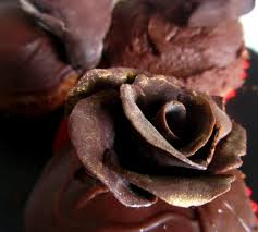 modelling chocolate roses 9 steps with pictures