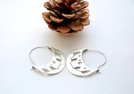 silver forest earrings silver forest earrings wilderness jewelry outdoors gift pine