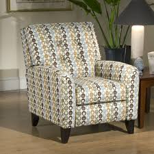 reclining accent chair pattern u2014 the clayton design comfortbale