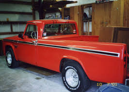 dodge truck racing 1965 custom sports special high performance package