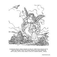 144 coloring pages angels images coloring