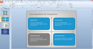 quad chart template powerpoint how to create quad chart in