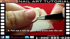 french tip manicure tutorial perfect diy french manicure with
