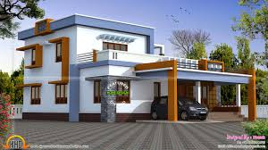 design styles box type house exterior elevation kerala home design and floor plans