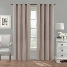 Blackout Curtains Bed Bath Beyond Amazon Com Eclipse 14380052084lin Nadya Solid 52 Inch By 84 Inch