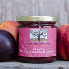 nectarine plum conserve conserve jam u2013 frog hollow farm