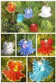 ribbon angels you need 2 1 2 inch wired ribbon bells for the
