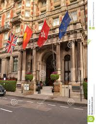 mandarin oriental hyde park london editorial stock photo image