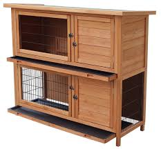 Rabbit Hutch Makers Merax Wooden Rabbit Hutch U0026 Reviews Wayfair