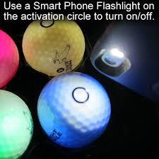 light up golf balls light up glowing led golf balls glowarehouse com
