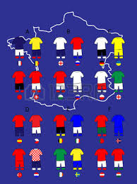 russia football map national football jersey map