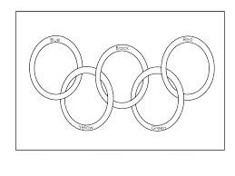 olympic rings color images Picture of olympic rings to color jpg