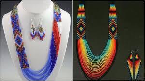 handmade bead necklace designs images Latest wonderful handmade ethnic beads jewellery design jpg