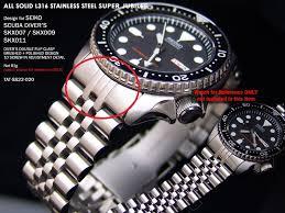 seiko solid bracelet images Jubilee bracelet options for skx007 jpg