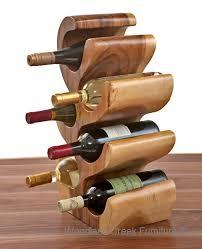unique wine bottles unique wood wine bottle holder wine rack