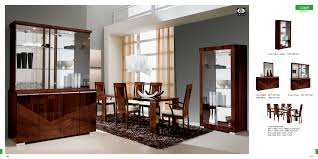modern dining room furniture set with v shape three tone wooden f