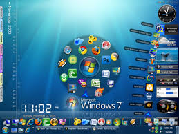 theme de bureau windows 7 transformer windows xp en windows 7