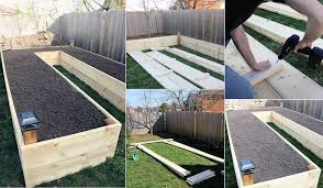 how to build a u shaped raised garden bed icreatived