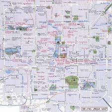 World Map Beijing China by Beijing Urban Map Beijing Maps China Tour Advisors