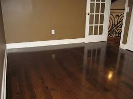 Laminate Flooring Doorway Magnificent Dark Brown Laminated Floor In Room With Brown Painted