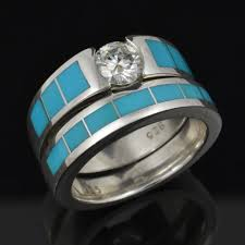 Turquoise Wedding Rings by Turquoise Engagement Rings Turquoise Engagement Rings And