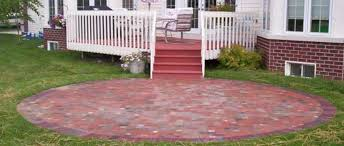 Patio Paver Installation Calculator Patios Paver Sidewalks U0026 Patios Excavation U0026 Installation Oconomowoc Wi