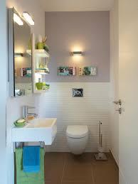 wandgestaltung gäste wc clevere lösung fürs gäste wc