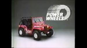 power wheels jeep power wheels jeep commercial december 1986 youtube