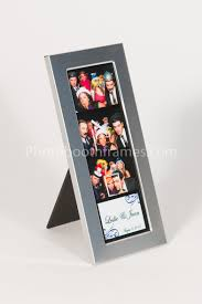 photo booth picture frames aluminum metal silver photo booth frame with matte finish photo