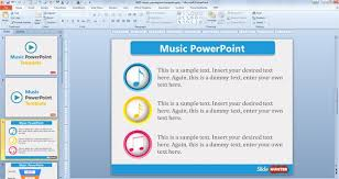 multimedia powerpoint templates free music powerpoint template