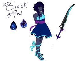 blue opal gemsona black opal by lavvanny on deviantart everyone u0027s gemsona