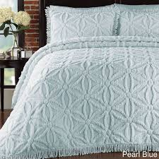 Light Blue Coverlet 50 Best Chenille Images On Pinterest Chenille Bedspread