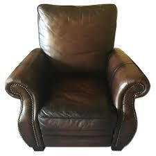 Brown Recliner Chair Macy U0027s Brown Leather Recliner Chair Aptdeco