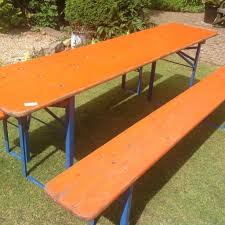 german beer garden table and bench remarkable german beer garden table bench set in brighton east