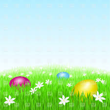 easter eggs on green grass vector clipart image 8390 u2013 rfclipart